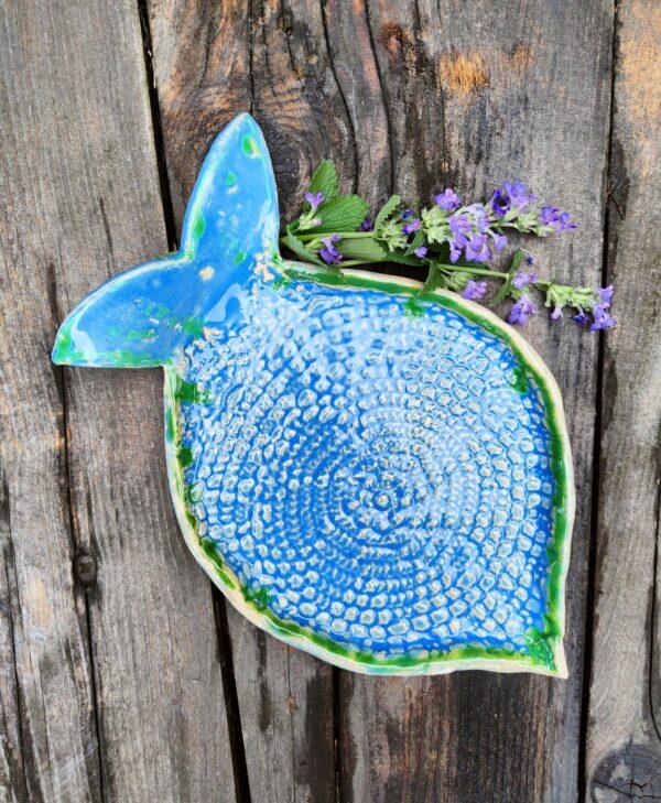 Talerz ryba ceramiczna