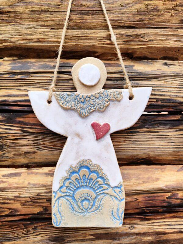 Anioł cramiczny