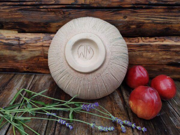 Misa turkusowa, ornament żonkil